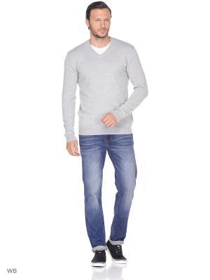 Пуловер Wrangler. Цвет: серый