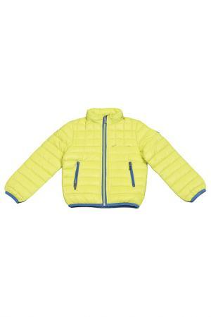 Куртка ASTON MARTIN. Цвет: лайм, синий