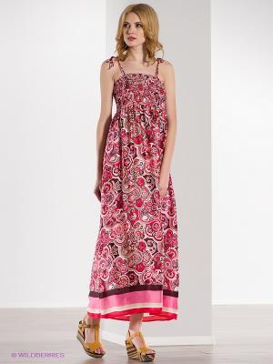 Сарафан Baon. Цвет: розовый, малиновый
