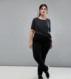 Nola Моделирующие брюки для занятий йогой. Цвет: черный