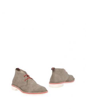 Полусапоги и высокие ботинки WALLY WALKER. Цвет: серый