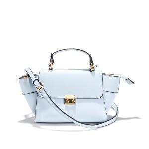 Сумка-портфель La Redoute Collections. Цвет: бледно-розовый,бледно-синий