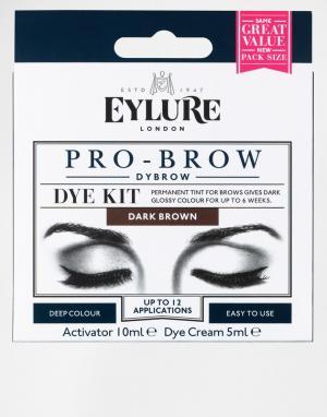 Eylure Краска для бровей Pro-Brow Dybrow. Цвет: коричневый