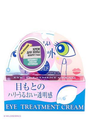 Крем для зоны вокруг глаз: увлажнение, сияние, упругость Roland 20 гр. Цвет: белый