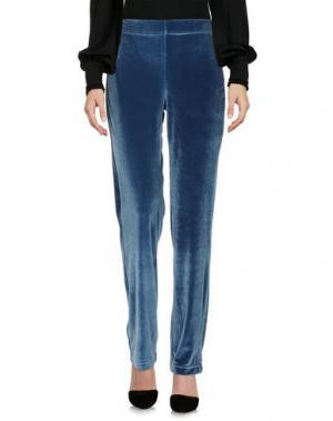 Повседневные брюки PIERRE MANTOUX. Цвет: цвет морской волны