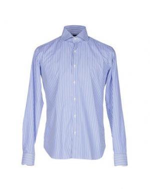 Pубашка DANOLIS. Цвет: синий