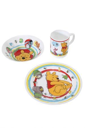 Набор детский Winnie the poohs Luminarc. Цвет: белый