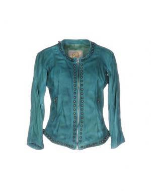 Куртка VINTAGE DE LUXE. Цвет: цвет морской волны
