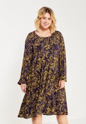 Платье Elena Miro. Цвет: разноцветный