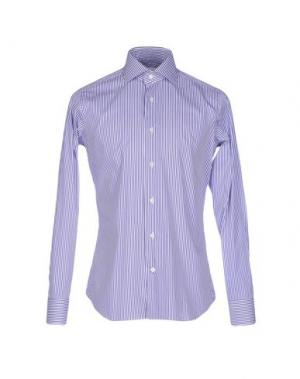 Pубашка GUGLIELMINOTTI. Цвет: фиолетовый