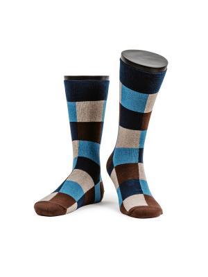 Cheshire cat носки мужские MARREY. Цвет: темно-синий, коричневый, голубой