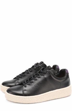 Кожаные кеды Ace на шнуровке Eytys. Цвет: черный