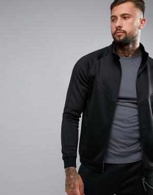 Dissident Спортивная куртка на молнии. Цвет: черный