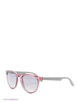 Солнцезащитные очки CARRERA. Цвет: серый, розовый