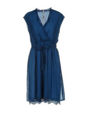 Короткое платье EMMA&GAIA. Цвет: пастельно-синий