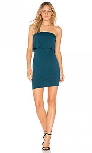 Платье meredith Susana Monaco. Цвет: зеленый