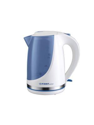 Чайник FIRST 5427-8-BU Емкость: 1.7 л.Мощность: 2200 Вт.. Цвет: голубой, белый