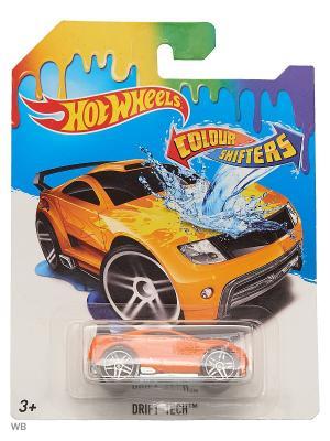 Машинка  изменяющая цвет Hot Wheels. Цвет: оранжевый