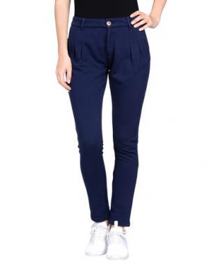 Повседневные брюки PRAIO. Цвет: синий
