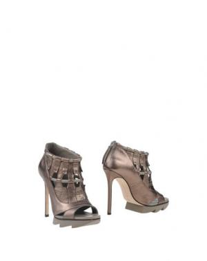 Ботинки CAMILLA SKOVGAARD. Цвет: свинцово-серый