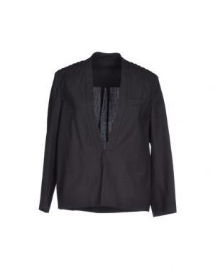 Пиджак BRUNELLO CUCINELLI. Цвет: свинцово-серый