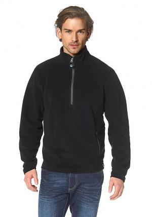 Флисовый пулове Otto. Цвет: черный