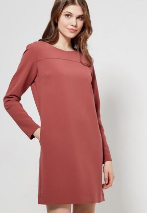 Платье Echo. Цвет: коралловый