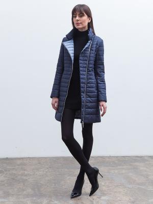 Пальто Clasna. Цвет: темно-синий