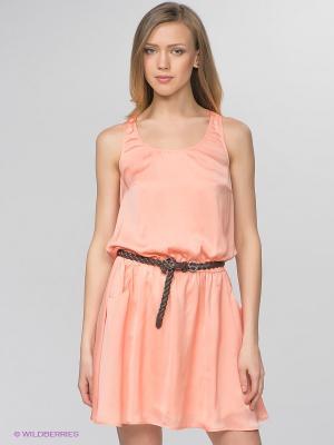 Платье Camelot. Цвет: персиковый