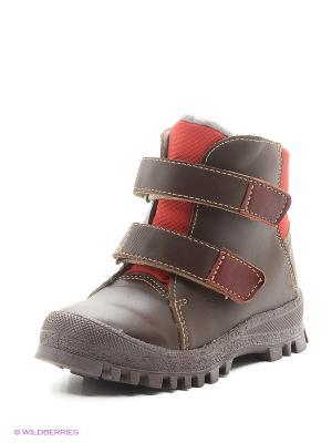 Ботинки Римал. Цвет: коричневый