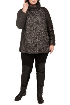 Куртка Terra. Цвет: мара, черный