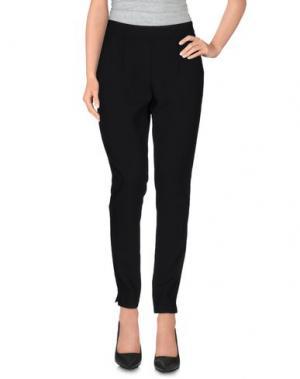 Повседневные брюки VIEW. Цвет: черный