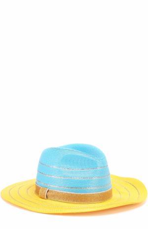 Пляжная шляпа Missoni. Цвет: желтый