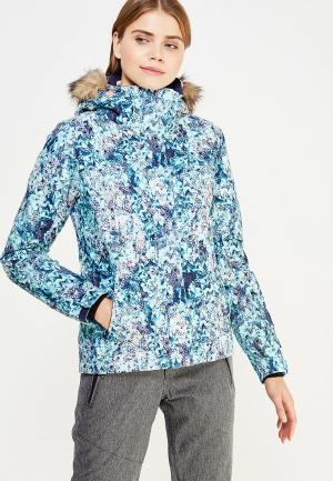 Куртка горнолыжная Roxy. Цвет: голубой