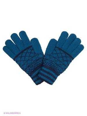 Перчатки United Colors of Benetton. Цвет: синий, темно-синий
