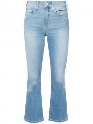 Укороченные джинсы кроя Brix fit Hudson. Цвет: синий