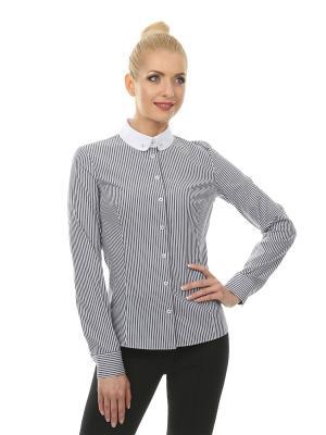 Рубашка BLAUZ. Цвет: серый