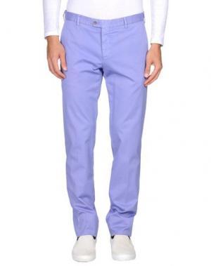 Повседневные брюки GERMANO. Цвет: розовато-лиловый