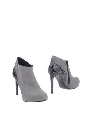 Ботинки GUGLIELMO ROTTA. Цвет: серый