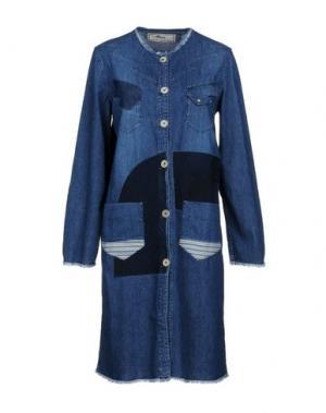 Платье до колена PENCE. Цвет: синий