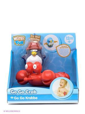 Игрушка для ванны Краб Toy Target. Цвет: голубой