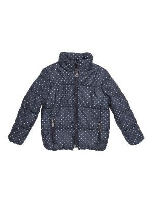 Куртка Button Blue. Цвет: темно-синий
