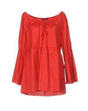 Блузка CARLA G.. Цвет: красный