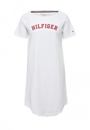 Сорочка ночная Tommy Hilfiger. Цвет: белый