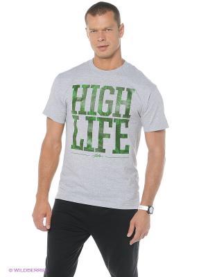 Футболка HIGH LIFE TEE JSLV. Цвет: серый