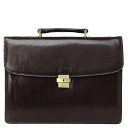 Портфель  7730 темно-коричневый GERARD HENON
