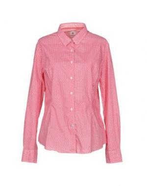 Pубашка GANESH. Цвет: красный