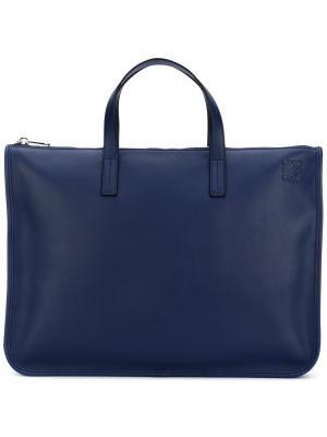 Портфель Toledo Loewe. Цвет: синий