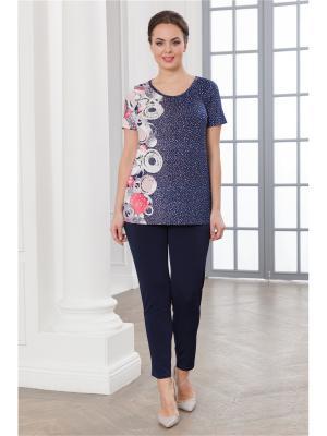 Комплект одежды CLEO. Цвет: темно-синий, коралловый
