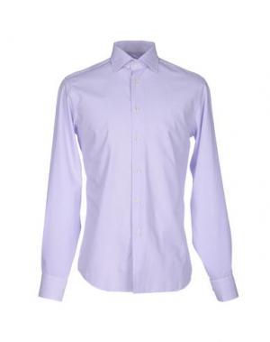 Pубашка ZANETTI. Цвет: сиреневый